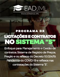 PROGRAMA DE LICITAÇÕES E CONTRATOS NO SISTEMA S