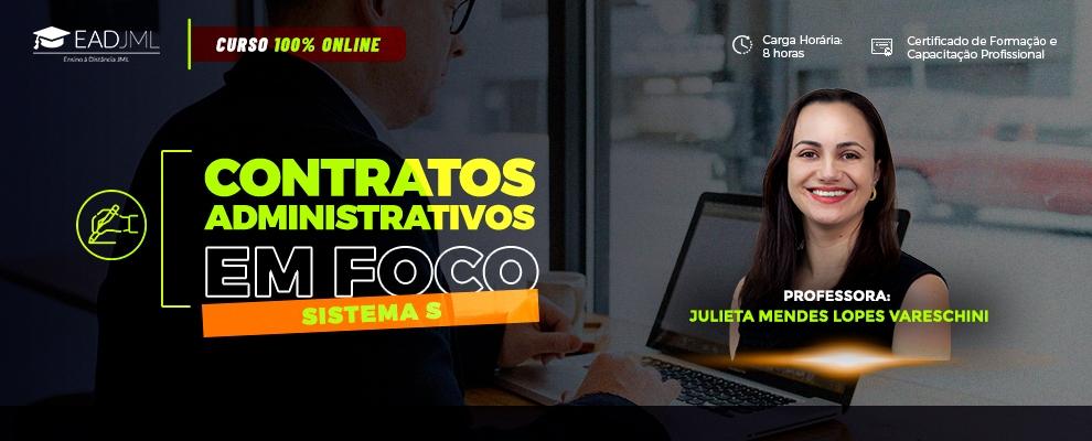 CONTRATOS ADMINISTRATIVOS EM FOCO - SISTEMA S