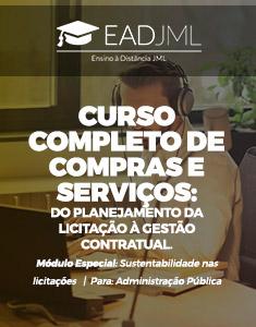 CURSO COMPLETO DE COMPRAS E SERVIÇOS: DO PLANEJAMENTO DA LICITAÇÃO À GESTÃO CONTRATUAL.